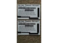22/5/2017 alton towers ticket 22 may