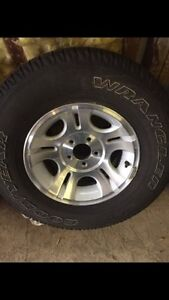 Rims and Tires 5x144.3 - 235 75 15