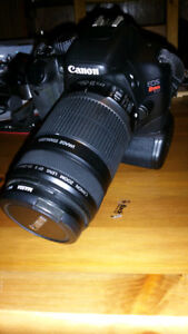 Canon t2i with 55-250mm IS lens(read)