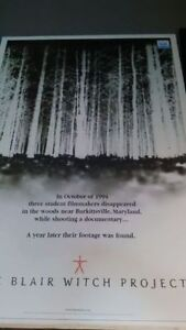Blair Witch Project poster for your home theater! Only $17
