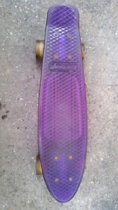 PURPLE KARNAGE SKATEBOARD