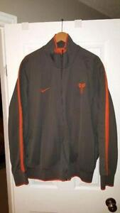 Nike kobe Bryant  zip up  size 3XL