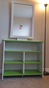 **Perfect for Girls** Beautiful Assembled Dresser with Mirror