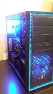 "I7 4770, Windforce 280x, 8gb ram, Asus 27"" led 1 tb HD Gaming Pc"