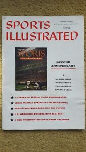 Sports Illustrated August 20, 1956 2nd Anniv Issue