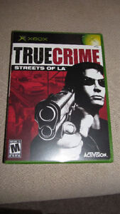 """True Crime:Streets of LA"" (Xbox 2003) -new/sealed - only $10"