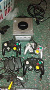 MOVING POSTED FOR QUICK SALE; FULL GAMECUBE, 3 CONTROLLERS GAMES