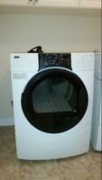 front load white glass dryer for sale 1.5 year old