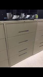 4 drawer lateral filling cabinets