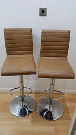 Kitchen Chairs Stools x 2