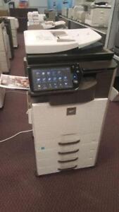 Canon Xerox Minolta Bizhub Ricoh Sharp Toshiba HP Lexmark kyocera mita colour Copiers Color Laser Printer Fax For Sale