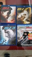 Mission Impossible Bluray Collection