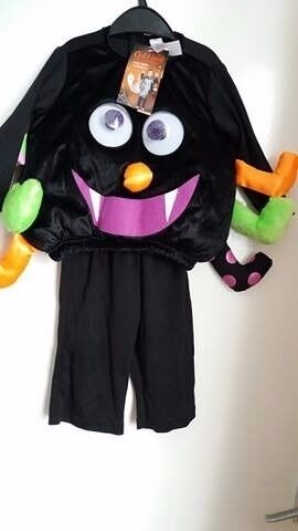 BNWT Halloween Spider Baby Costume 6-9 months
