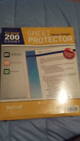 Clear 200 Heavy Weight Sheet Protectors