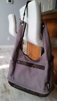 Isoki Australia Large Diaper Bag - Canvas and Leather *REDUCED*