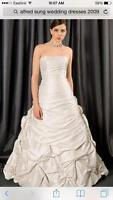 Alfred Sung Wedding Dress For Sale $500 OBO