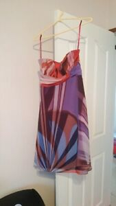Colourful Le chateau grad or party dress Size Small