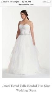 Wedding Dress (bran new, plus size)
