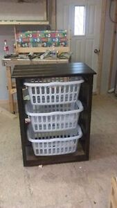 Laundry Organizer....Baskets Included