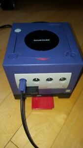 Nintendo GameCube set with Gameboy player