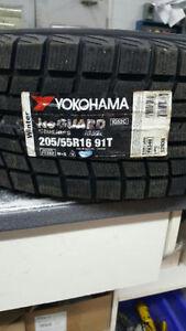 Brand New Yokohama Iceguard 205/55R16 Winter Tires