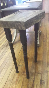 Tall Rustic End Table at We Paint It! Port Hope Peterborough Peterborough Area image 2