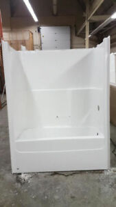 """Like new"" tub/ shower unit"