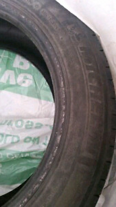 Used Michelin Summer tires set of 4