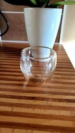 Espresso glasses (pair) - 80ml Double Layered