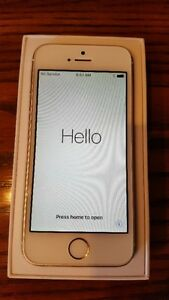 iPhone 5S - Gold 16GB Excellent Condition (Fido)