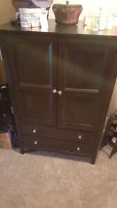 TV Cabinet Black Dresser Cambridge Kitchener Area image 2