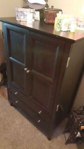 TV Cabinet Black Dresser Cambridge Kitchener Area image 3