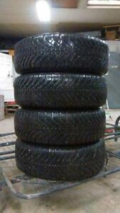 215 65 R15 Winter Tires Set of 4 BEST CONDITION