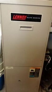 "1 Lennox ""Elite Series"" High efficiency ""Gas""  Furnace"