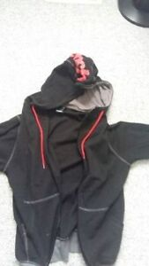 Red and Black Bench Hoodie