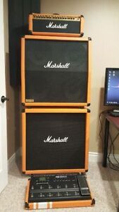 Marshall full stack with head.... new tolex and grills