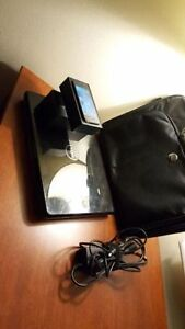 Dell Laptop and iPhone 5 with box