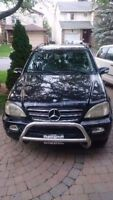 2003 Mercedes-Benz M-Class 500 SUV, Crossover