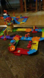 Vtech Toot Toot Train station set