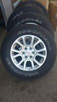 """For sale 2015 GMC 18"""" wheel tire package"""