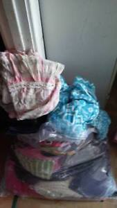 3 Huge Bags of Girl's Size 6-8 Clothing - All Seasons