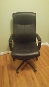 Great Condition Executive leather office chair. $50 OBO