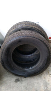 2 BRIDGESTONE DUELER TIRES 265/70 R17 $95 FOR THE PAIR