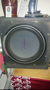 """12"""" rockford fosgate subs and"""