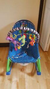 Chaise vibrante pour bebe