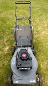 :Craftsman rear bag push lawnmower