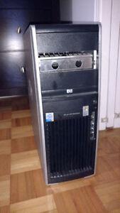 HP xw 4300 workstation - Pentium 4 - 8GB Ram