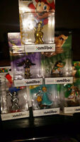 Amiibos left prices to sell. Also open for trade READ INSIDE