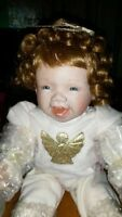 "The Ashton-Drake Galleries "" My first Christmas "" doll."