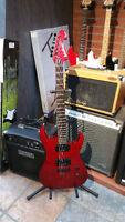Superbe guitare washburn PARFAIT POUR ROCK/METAL !!!!